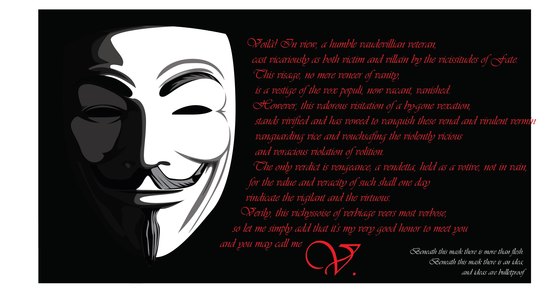 V For Vendetta Quotes Pics Photos - Vendetta...