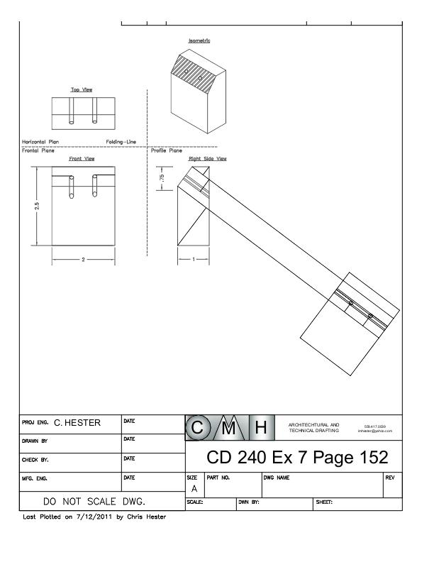 orthographics view pdf