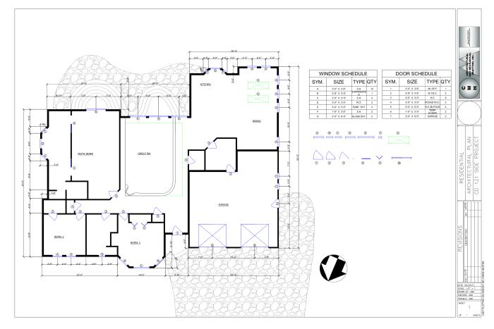 Intro to cad autocad and google sketchup by christopher hester at for How to design a floor plan in sketchup