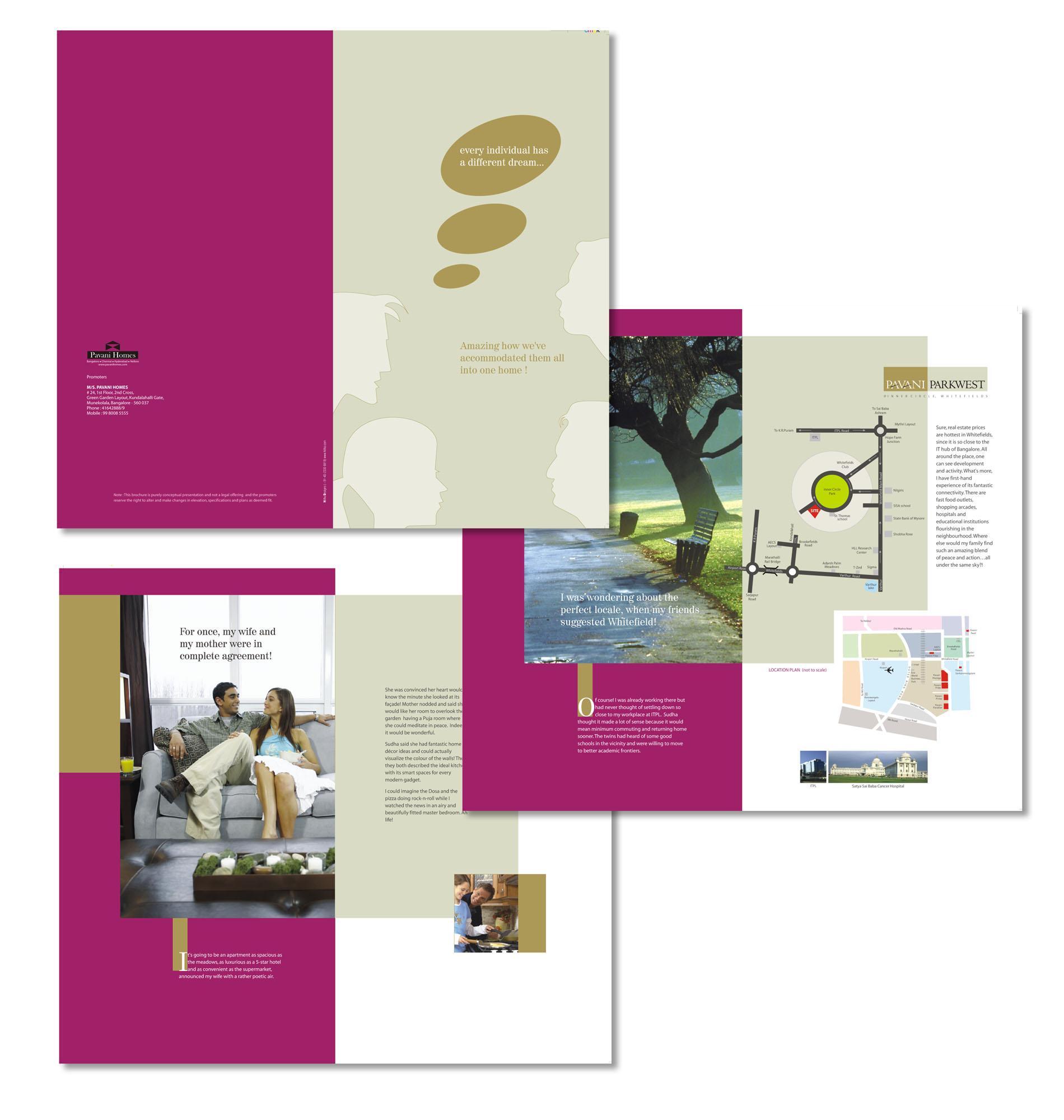 Brochures by Raghu Vannekala at Coroflot.com