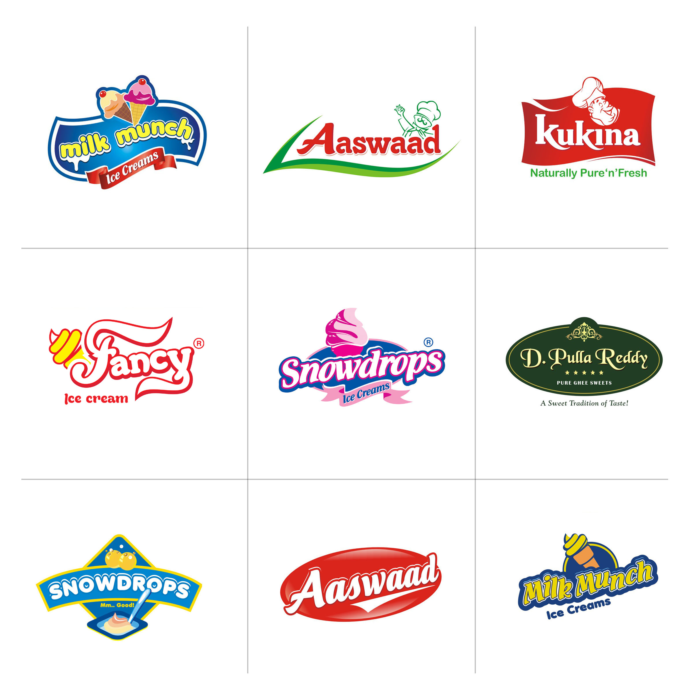 Food Logo Brands Food Product Logos