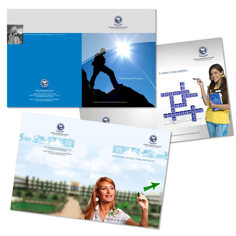 Brochures by Raghu Vannekala at Coroflot – College Brochure