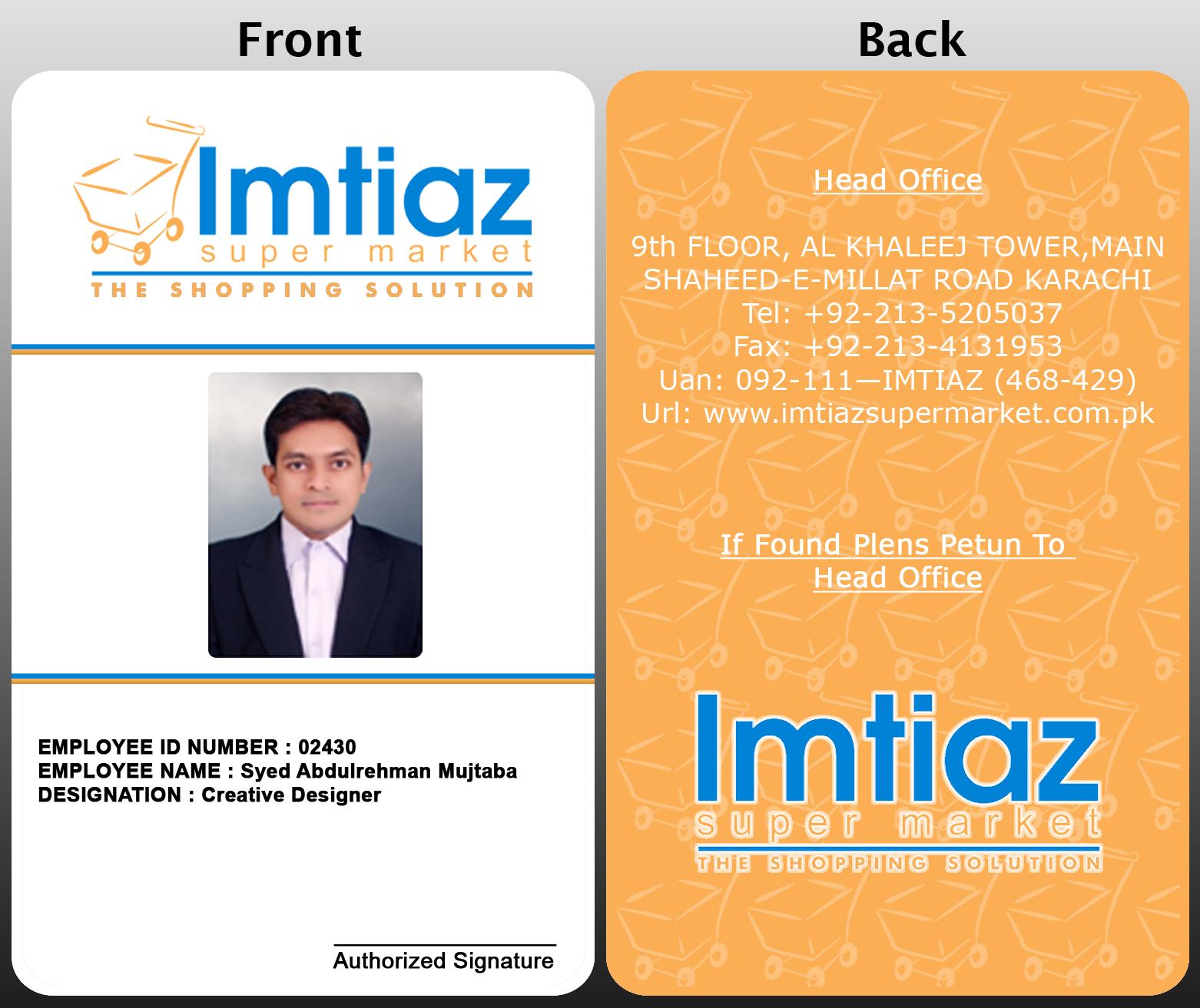 Business id card template mandegarfo business id card template flashek Choice Image