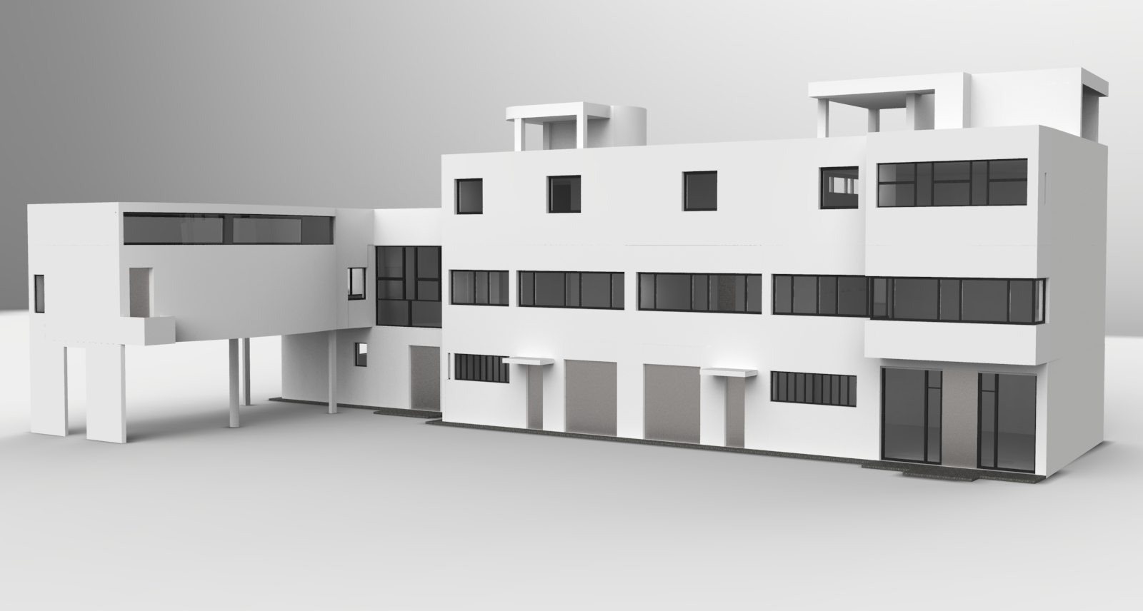 3d by fabien morvillier at - Villa la roche corbusier ...