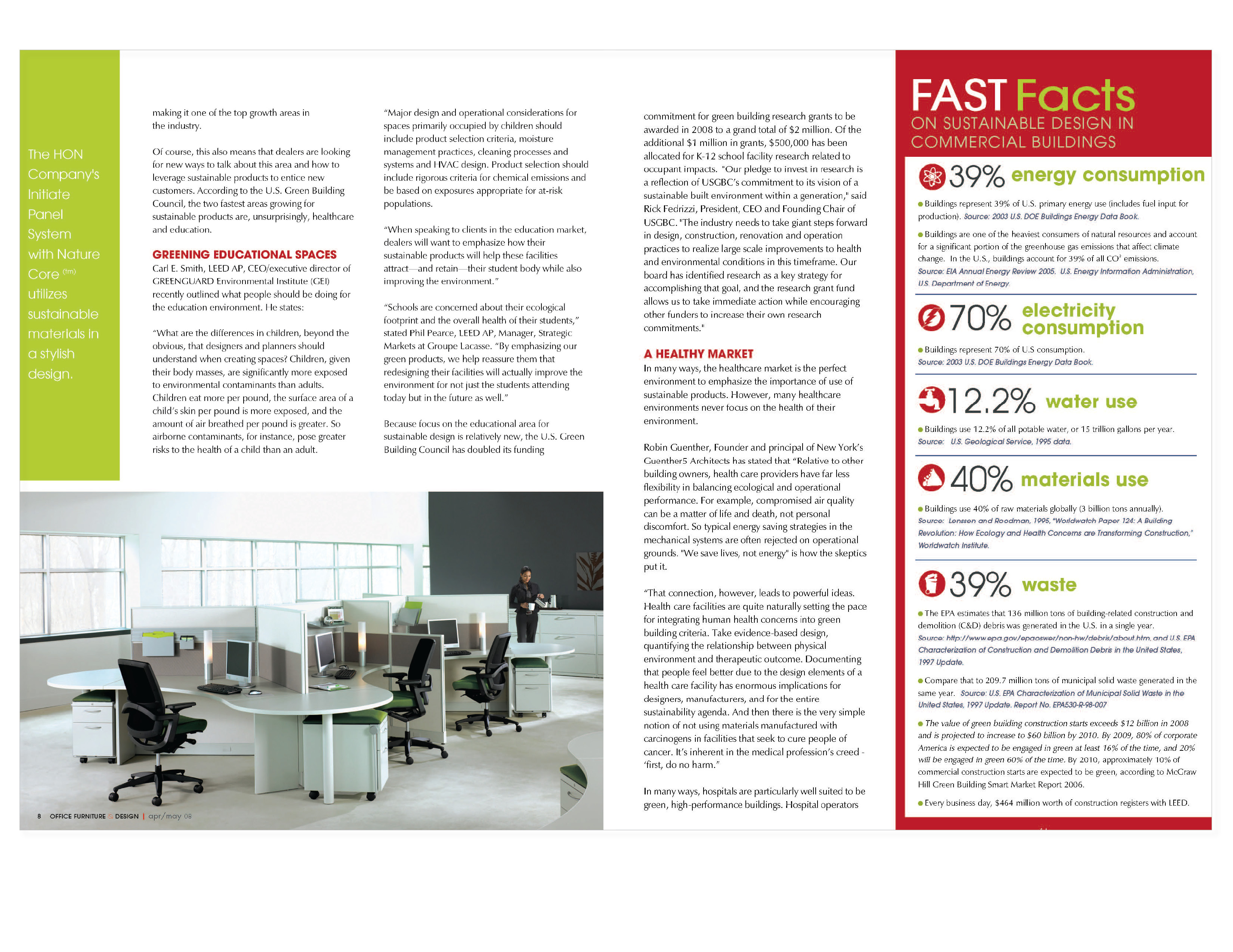 Office furniture design magazine inspirational for Office design trends articles