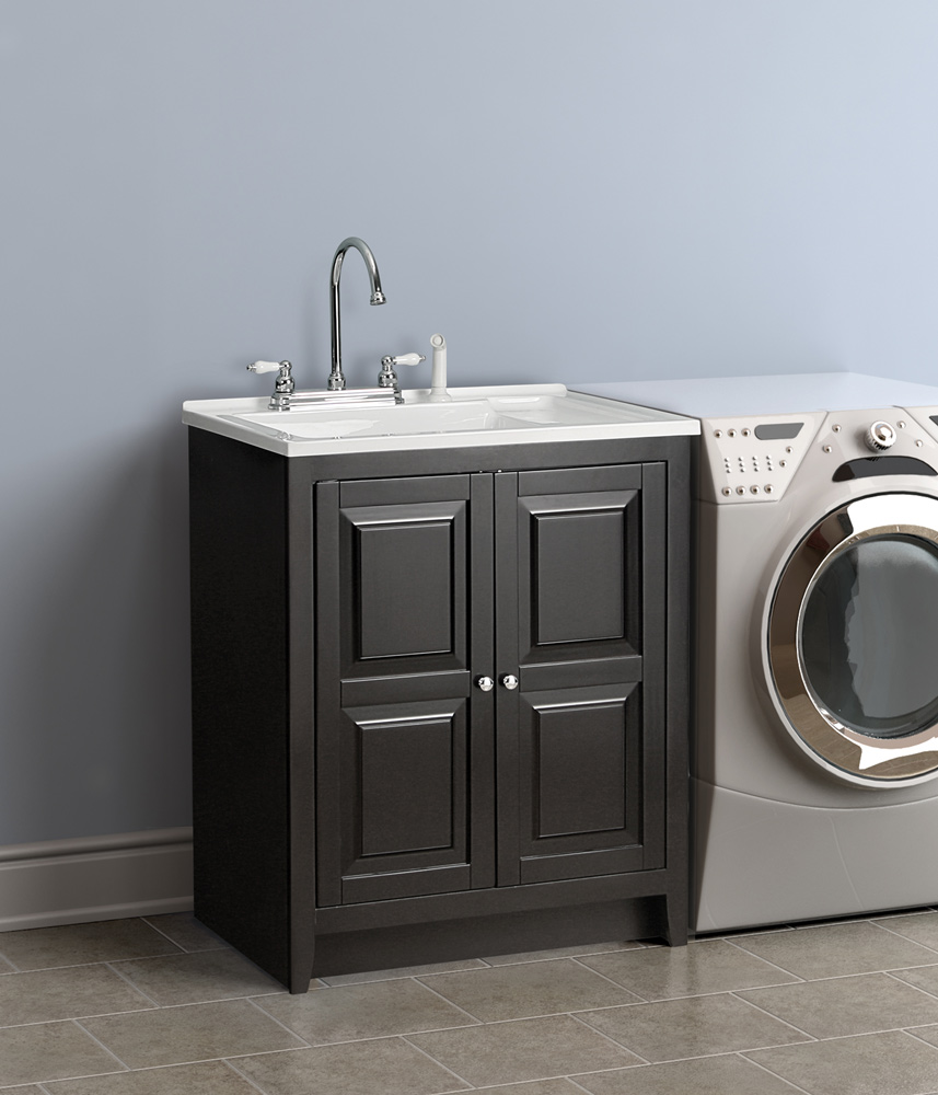 Laundry Cabinet And Sink : Utility Sink Cabinet laundry sinks with cabinets costco