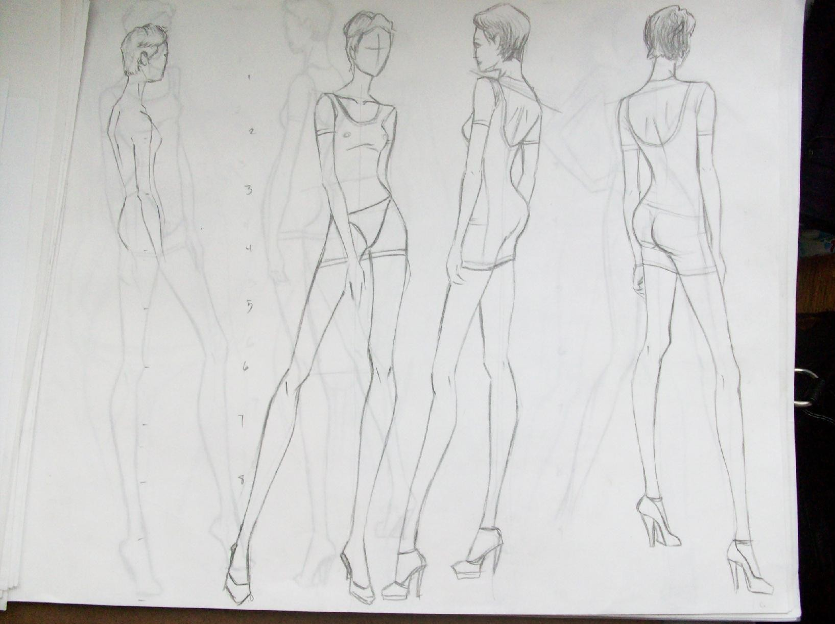 Glamorous Fashion Sketches and Illustrations: Best 50 67