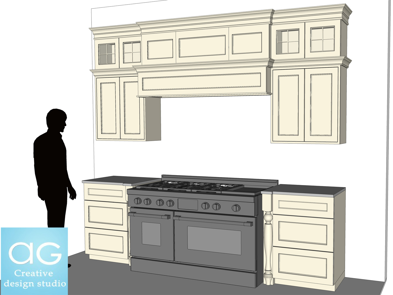 Interior design free sketchup models by ag cad designs at for Cuisine 3d sketchup