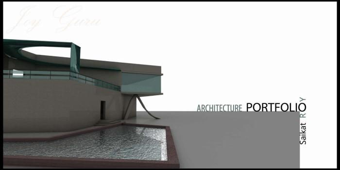 Architecture Design Portfolio by Saikat Roy at Coroflot.