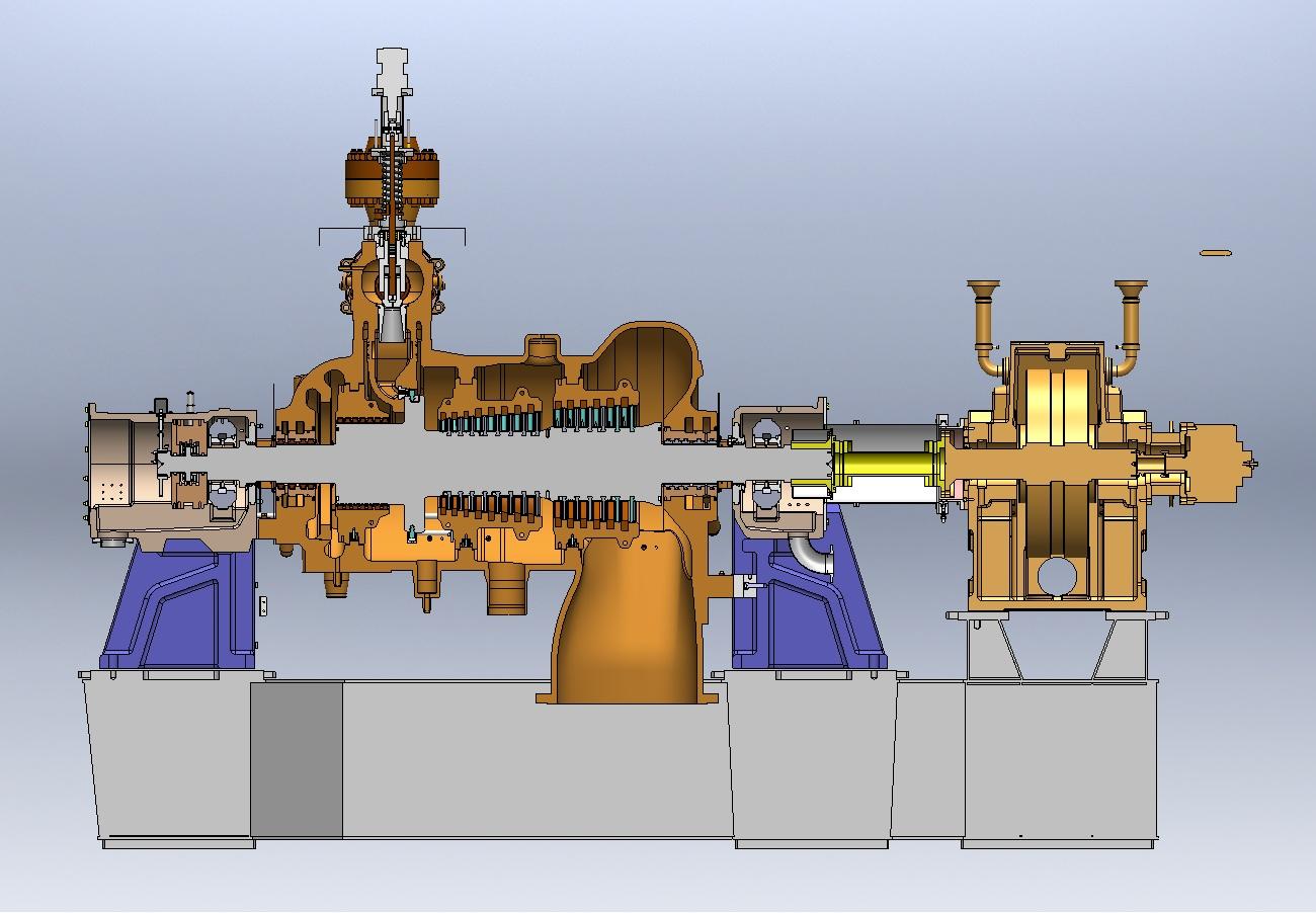Steam turbine by sudarshan anchan at coroflot