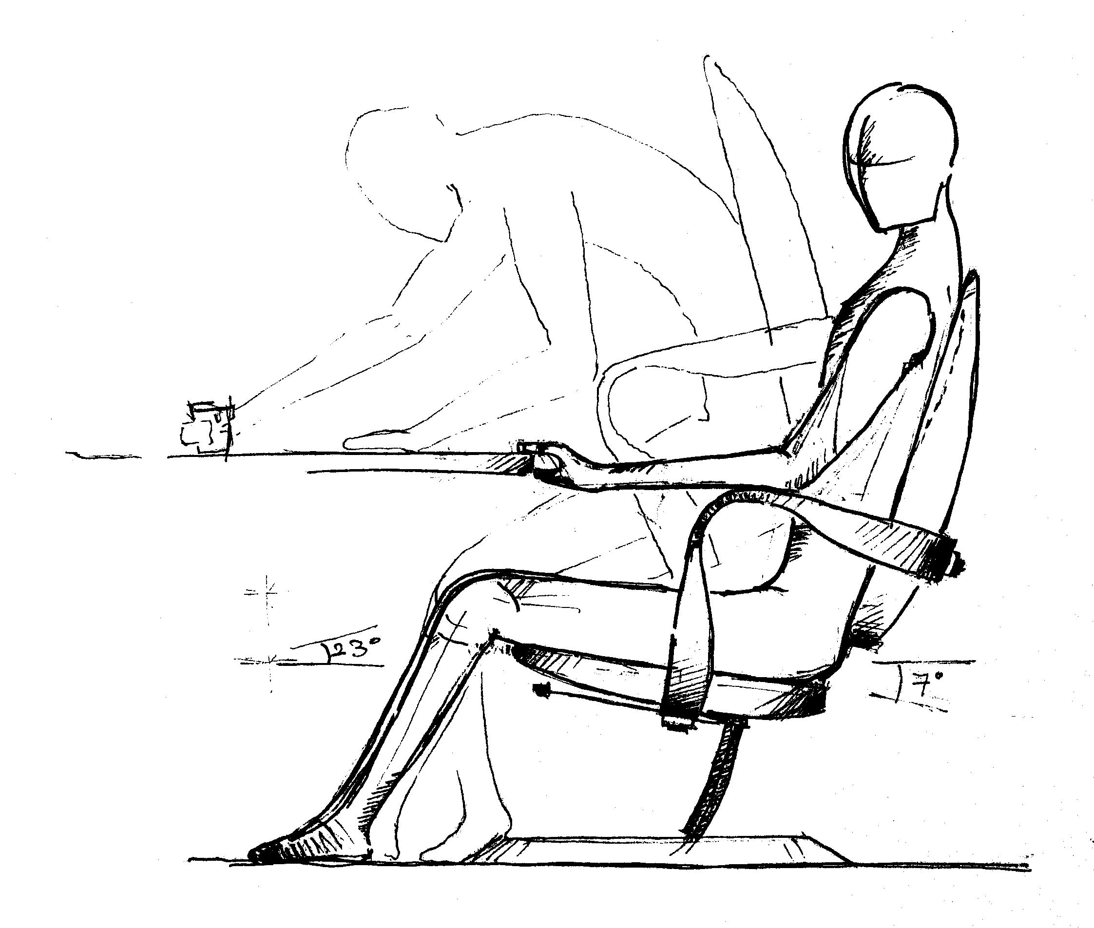 Office furniture design sketches - Amazing Office Furniture Sketch Vector Set Of Sketch Furniture