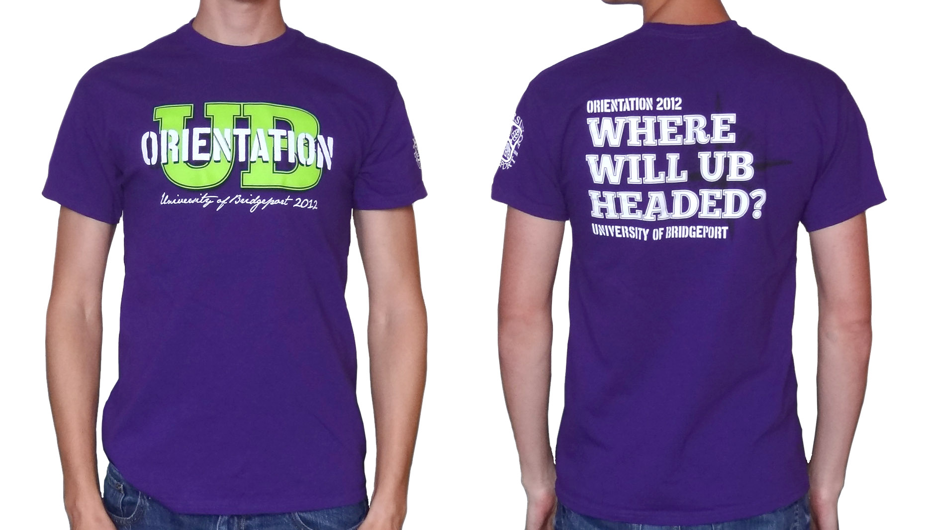 Design t shirt university - Orientation T Shirt Design