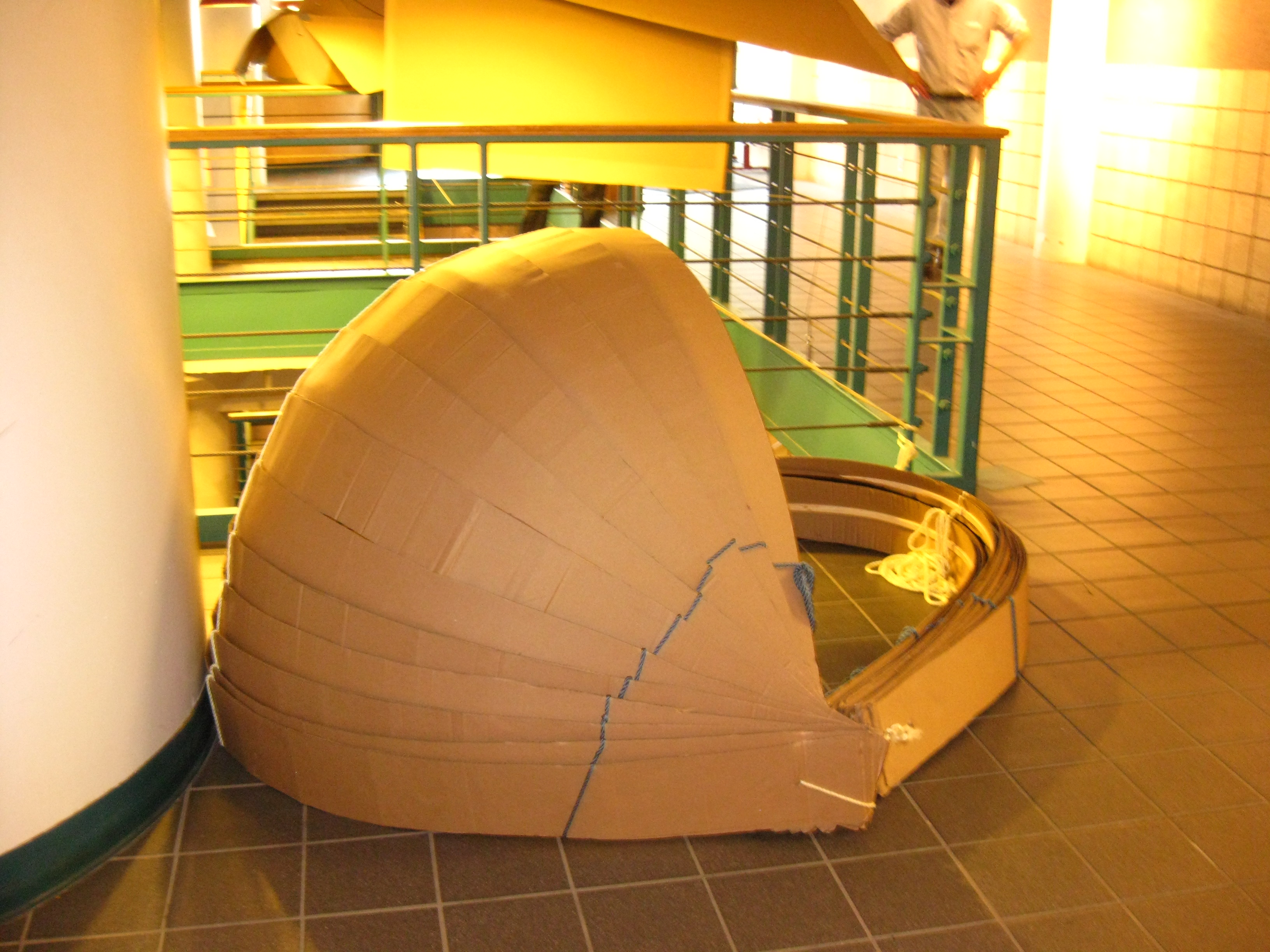 miad cardboard shelter project by ashley modlinski at