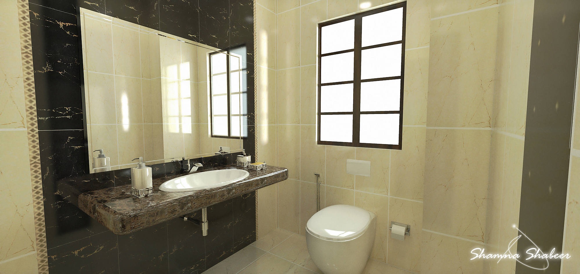 5 by 8 bathroom design weifeng furniture for Small bathroom design 5 x 8
