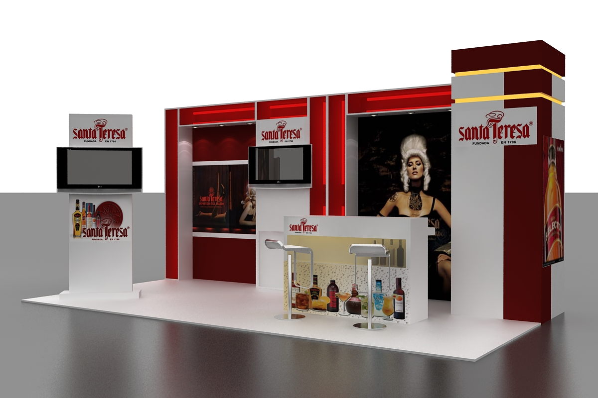 Modular Exhibition Stands Jobs : Exhibition stands modulares by astrid guevara sierra at