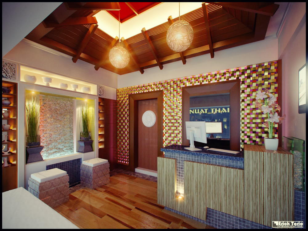Past interior projects by erick torio at for Thai style interior design