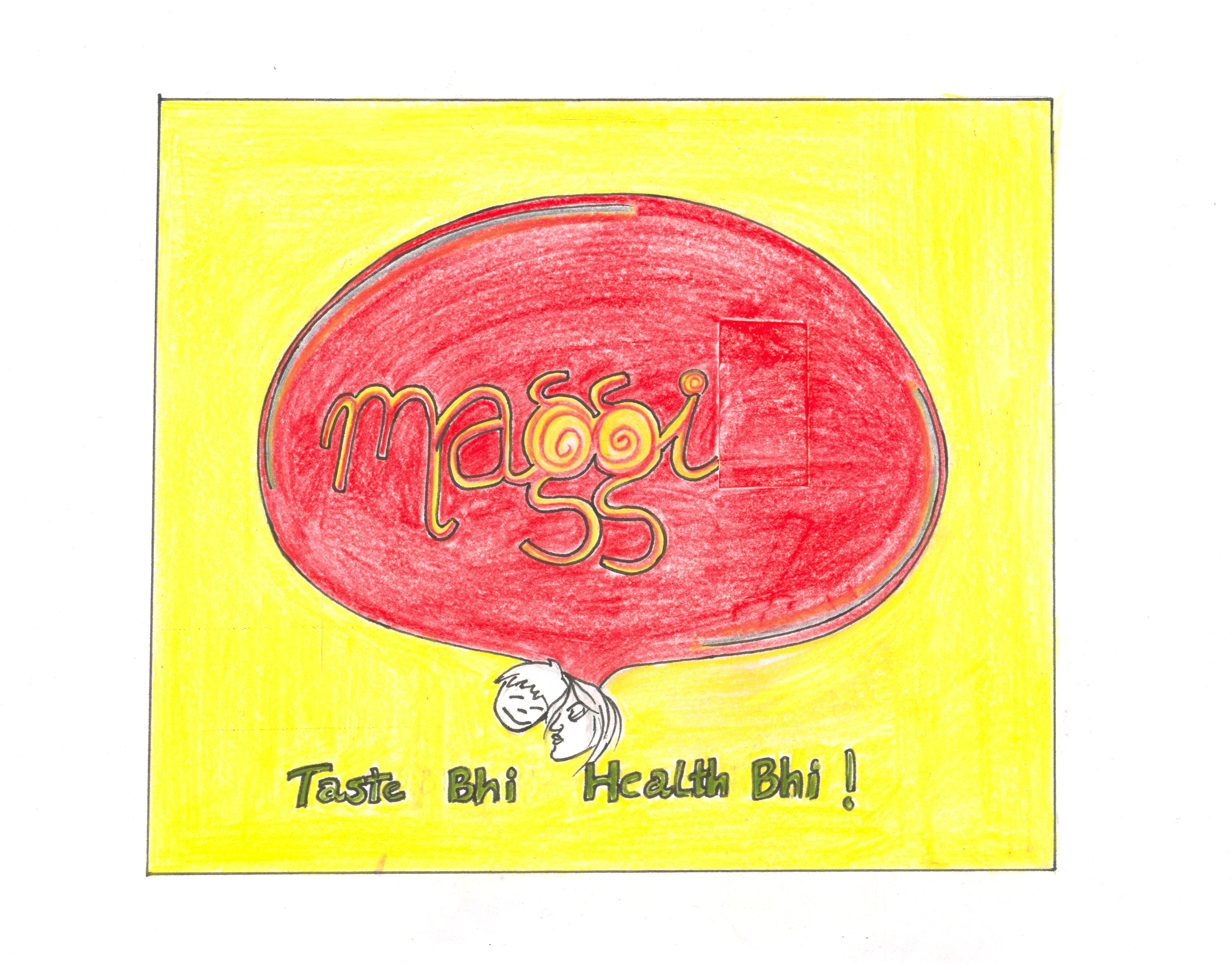 Sketches by Shivani Goel at Coroflot.com | {Maggi logo 33}