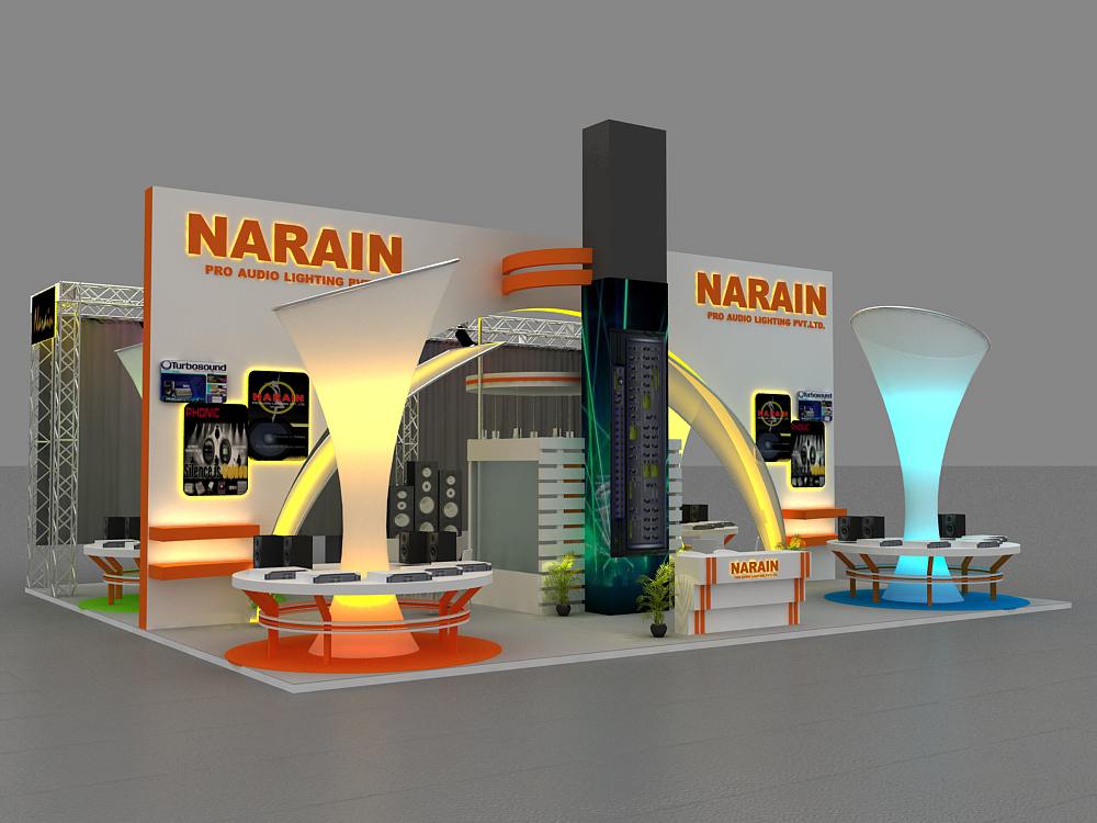 Exhibition Stall Measurements : Exhibition stall design by rahul bhogane at coroflot