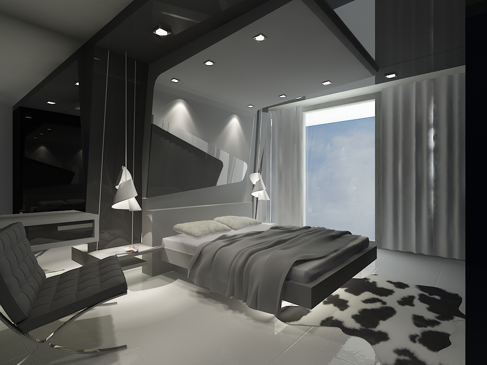 Interior housing design by jimmy lim at for Bed space interior design