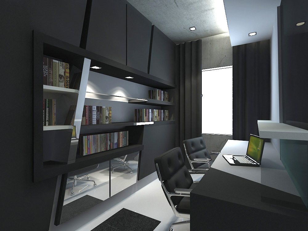 Interior housing design by jimmy lim at for Interior designs study room