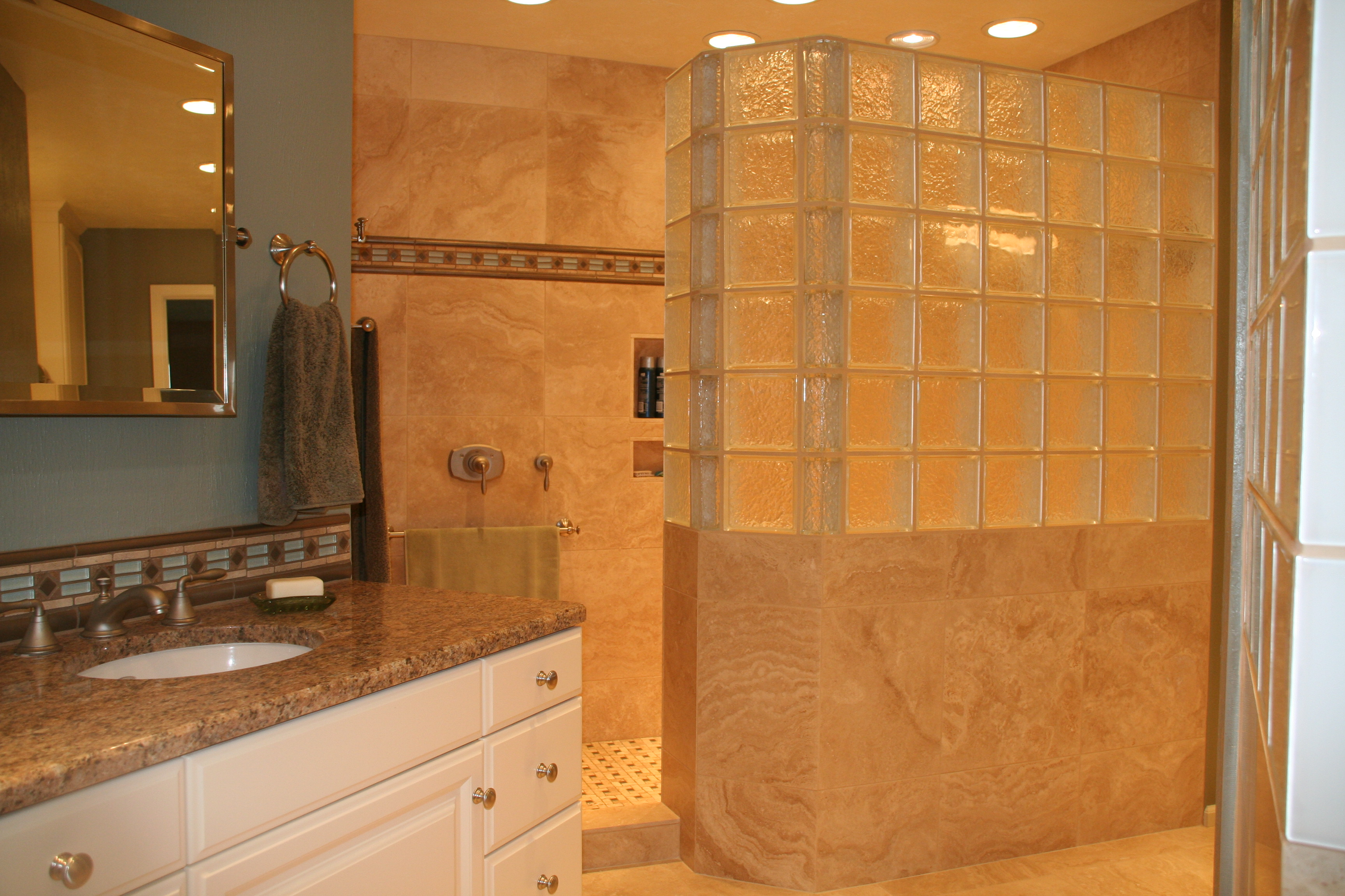 Glass block walls in bathrooms - 149 Best Home Design Images On Pinterest Architecture Tv Walls And Entertainment