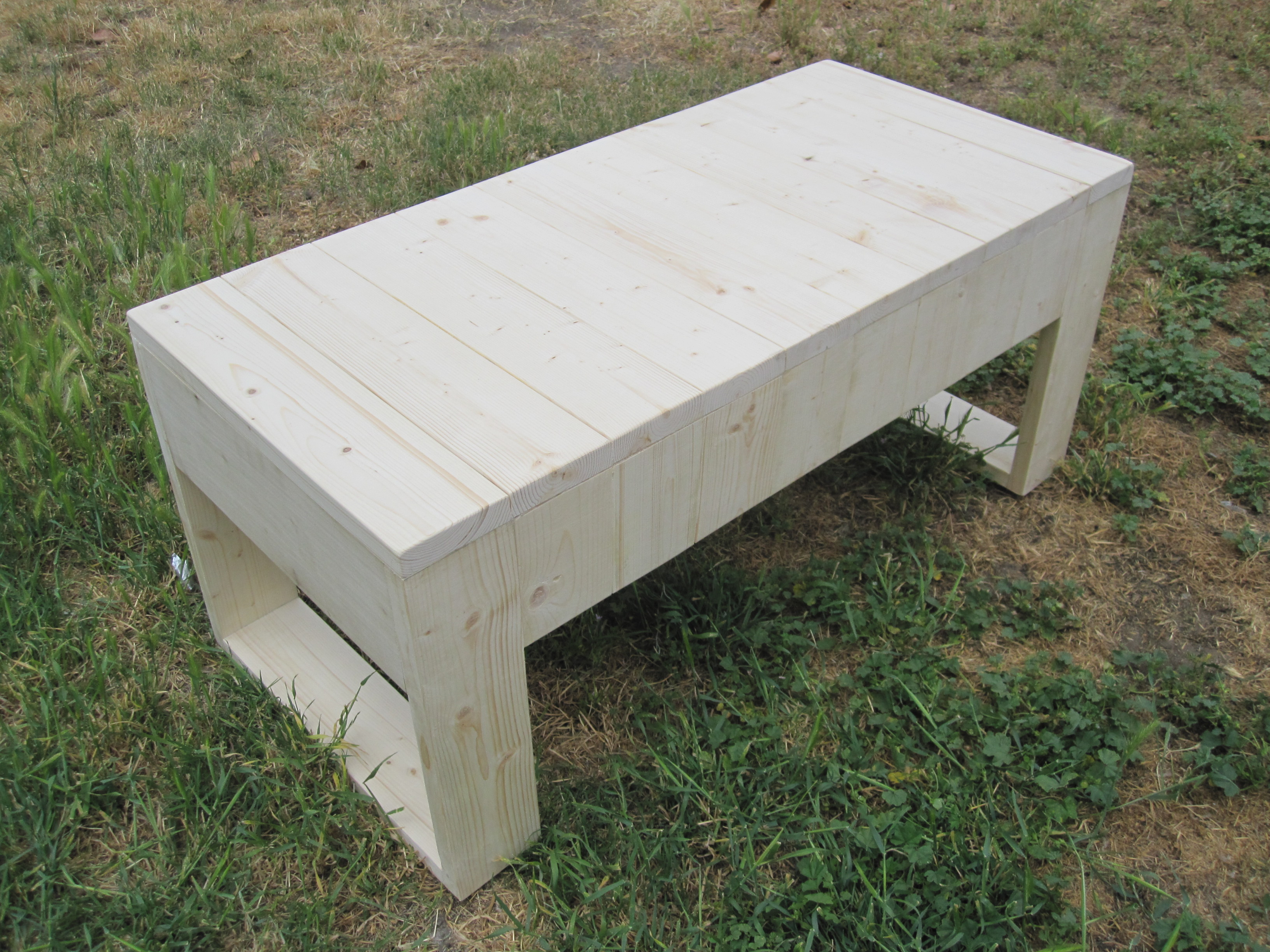 Modern outdoor bench - Bench A Modern Minimalistic Indoor Outdoor Bench Concept Made Entirely Out Of Wood