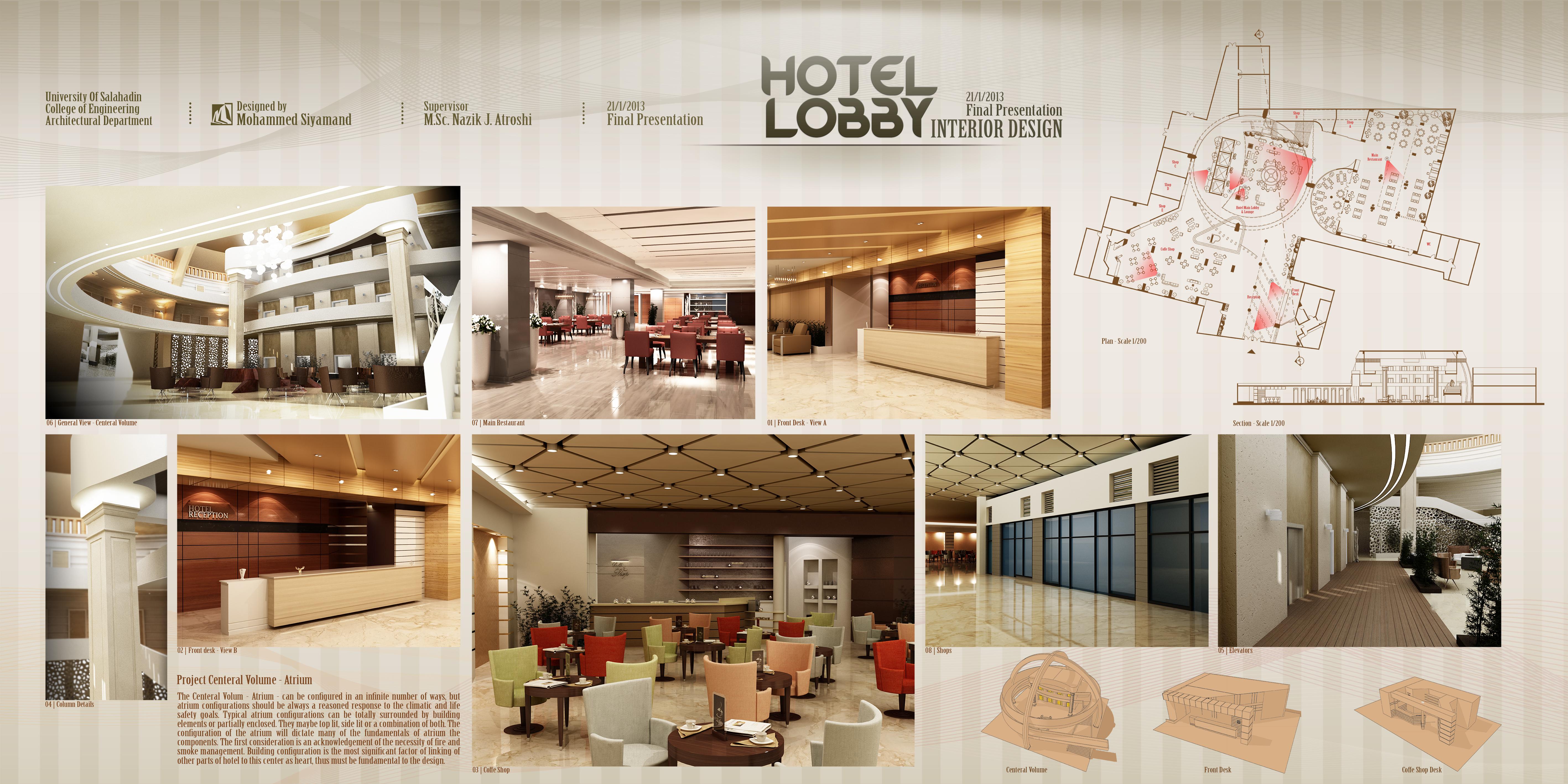 Hotel lobby furniture plan - H Favorite