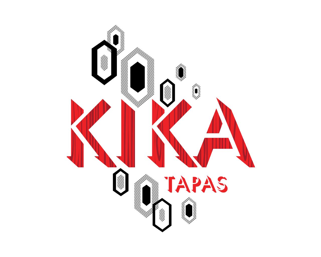 Spanish Restaurant Logo Kika tapas logo - kika tapas