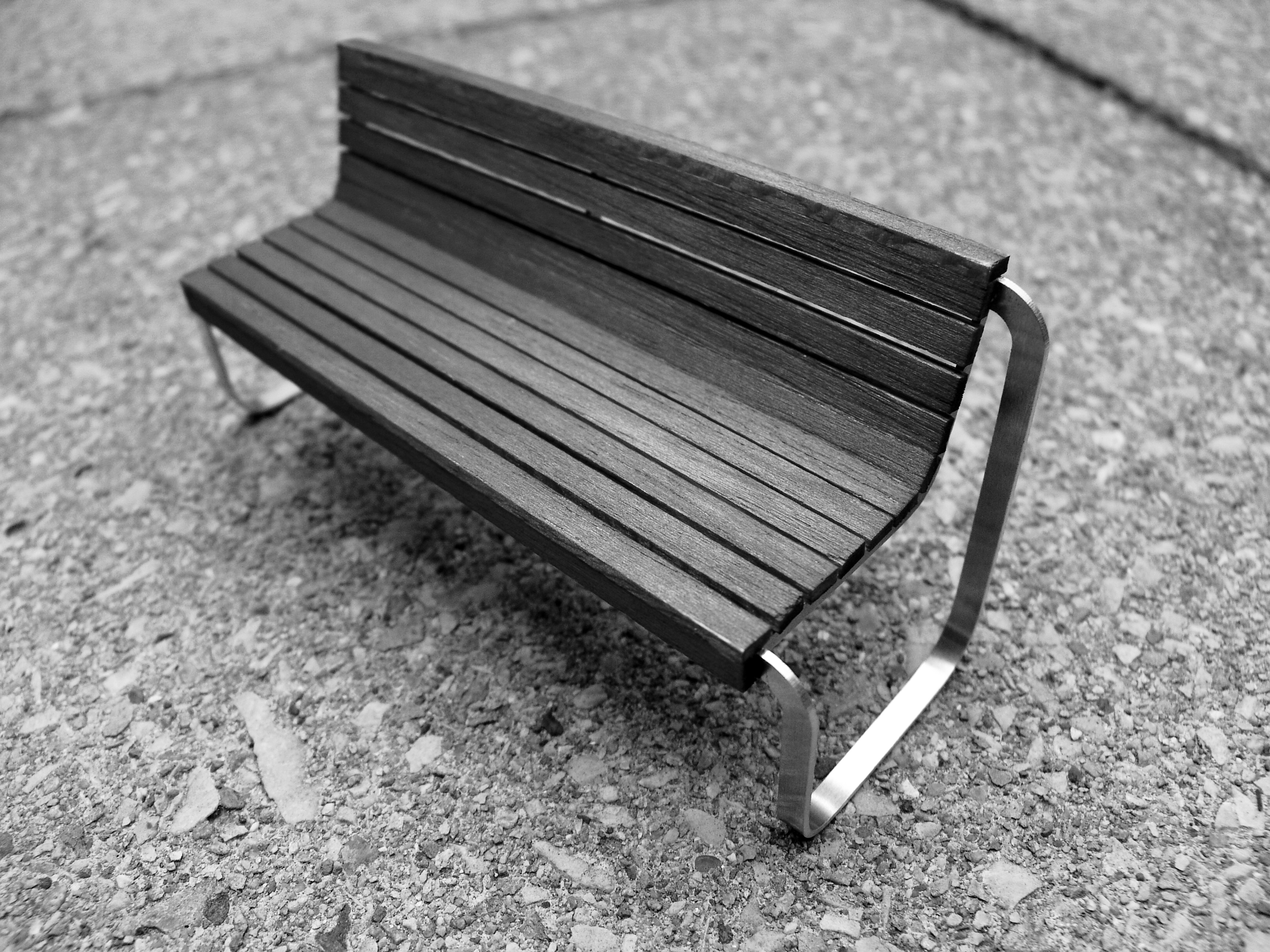 Scale model 10 urban furniture by andrey andreev at Scale model furniture