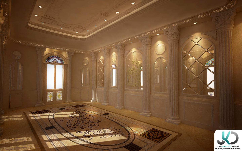 Classic italian style villa uae dubai by jamil khalili for Classic villa interior design