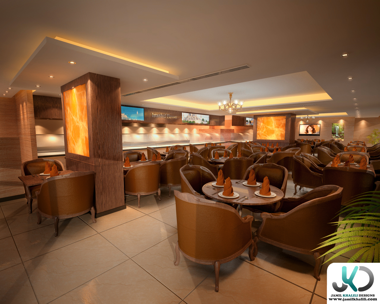 Flower of turkey restaurant uae dubai by jamil khalili