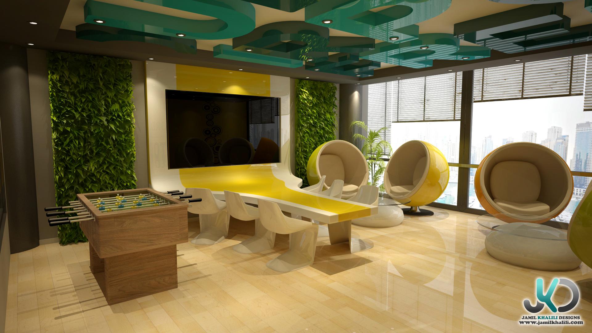 Dafza creative room office concept b dubai uae by for Office design uae