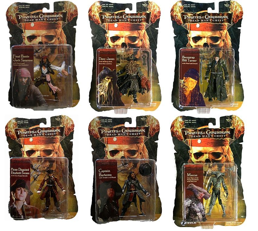 Pirates Of The Caribbean Toys : Package design by braulio parajon at coroflot