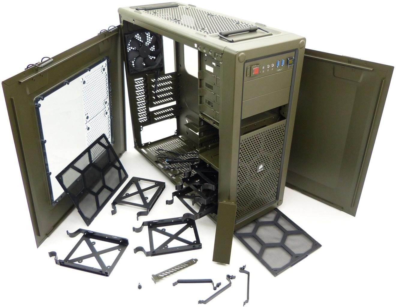 Ux Corsair Vengeance C70 Mid Tower Gaming Case Inner By