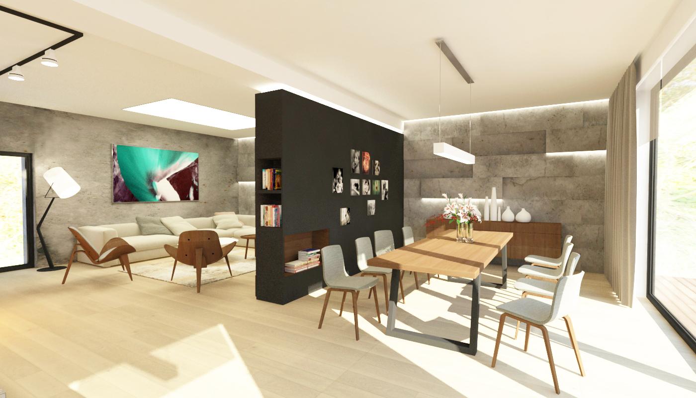 House interior design brno by veronika paluchova at for Design apartment udolni brno