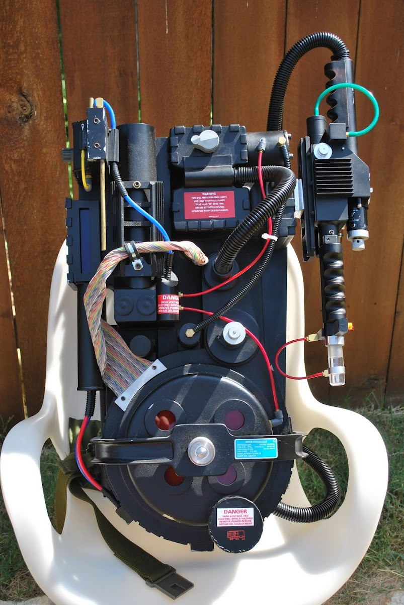 Just For Fun Ghostbusters Proton Pack Replica By Matthew