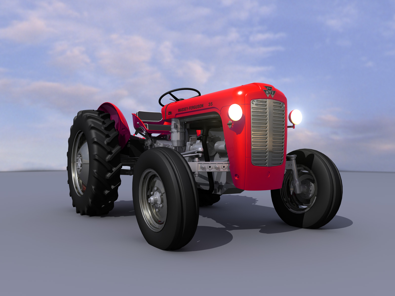Massey Ferguson 35 By Bruno Sap At Coroflot Com