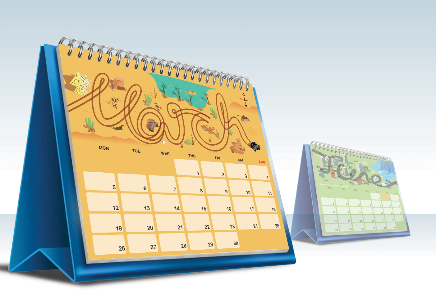 Calendar Design Pictures : Isuzu calendar design by jason tan yee chuan at