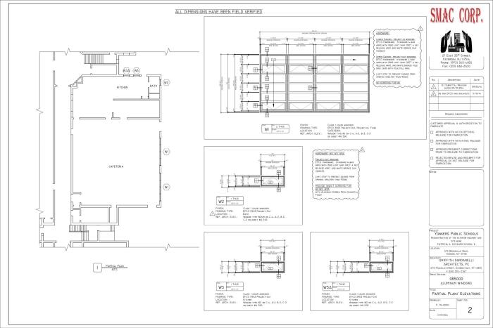 Windows Doors Amp Storefronts Shop Drawings By Kiril