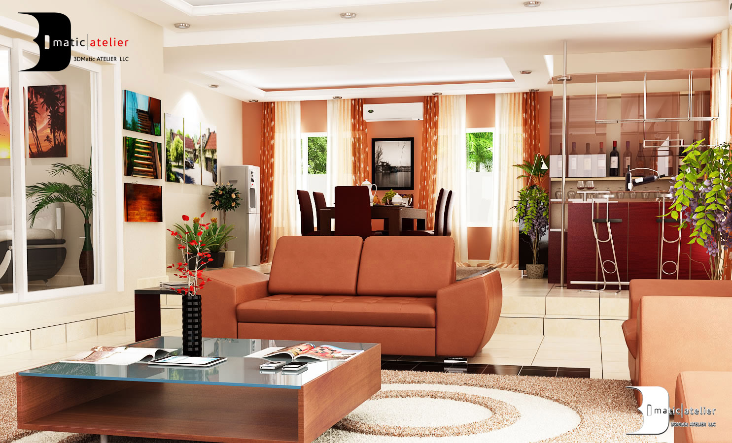 Interior design lekki nigeria by olamidun akinde at for Living room decoration in nigeria