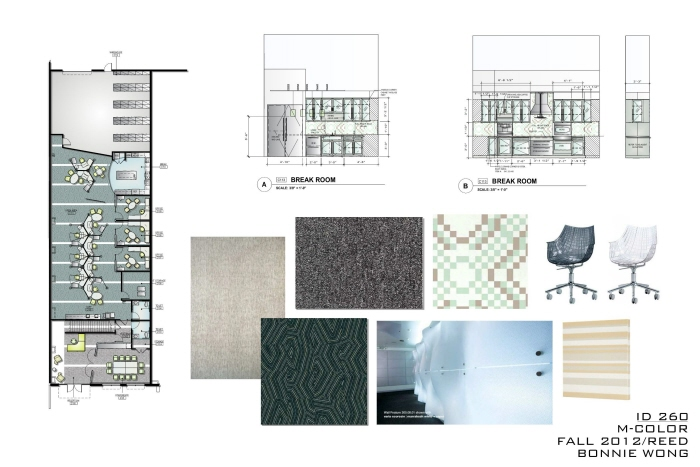 Commercial Design Concept Board by Bonnie Wong at Coroflotcom