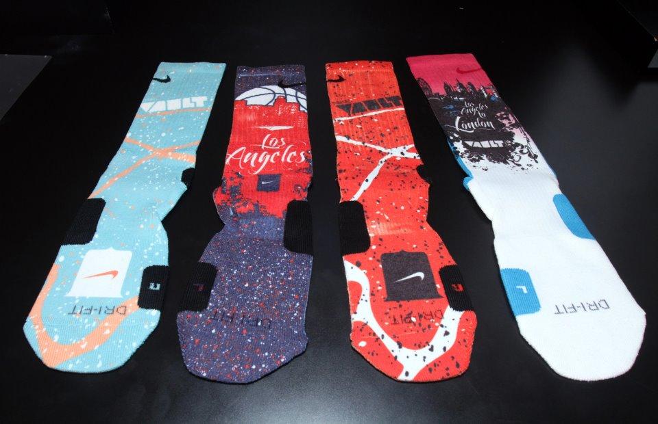 Nike elite socks custom nike vault custom elite socks
