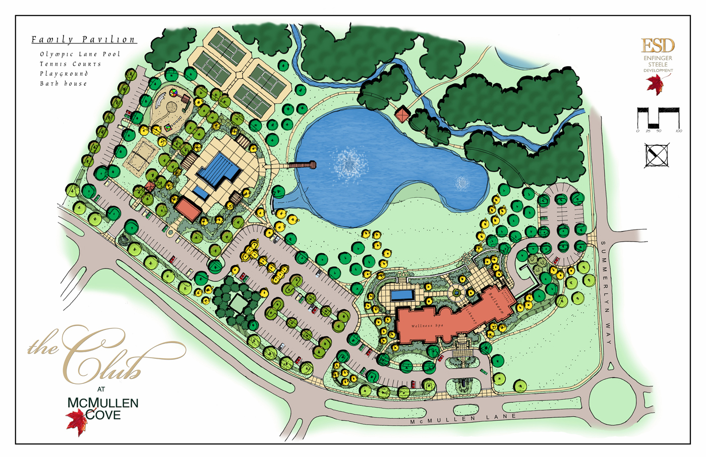 Landscape design renderings by eric lay at for Autocad landscape architecture