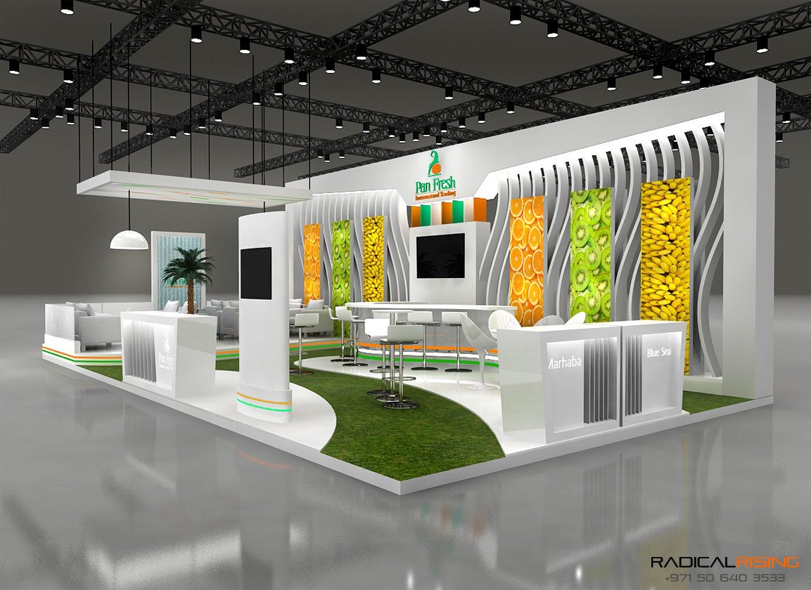 Design My Exhibition Stand : Pan fresh exhibition stand by theosign design at