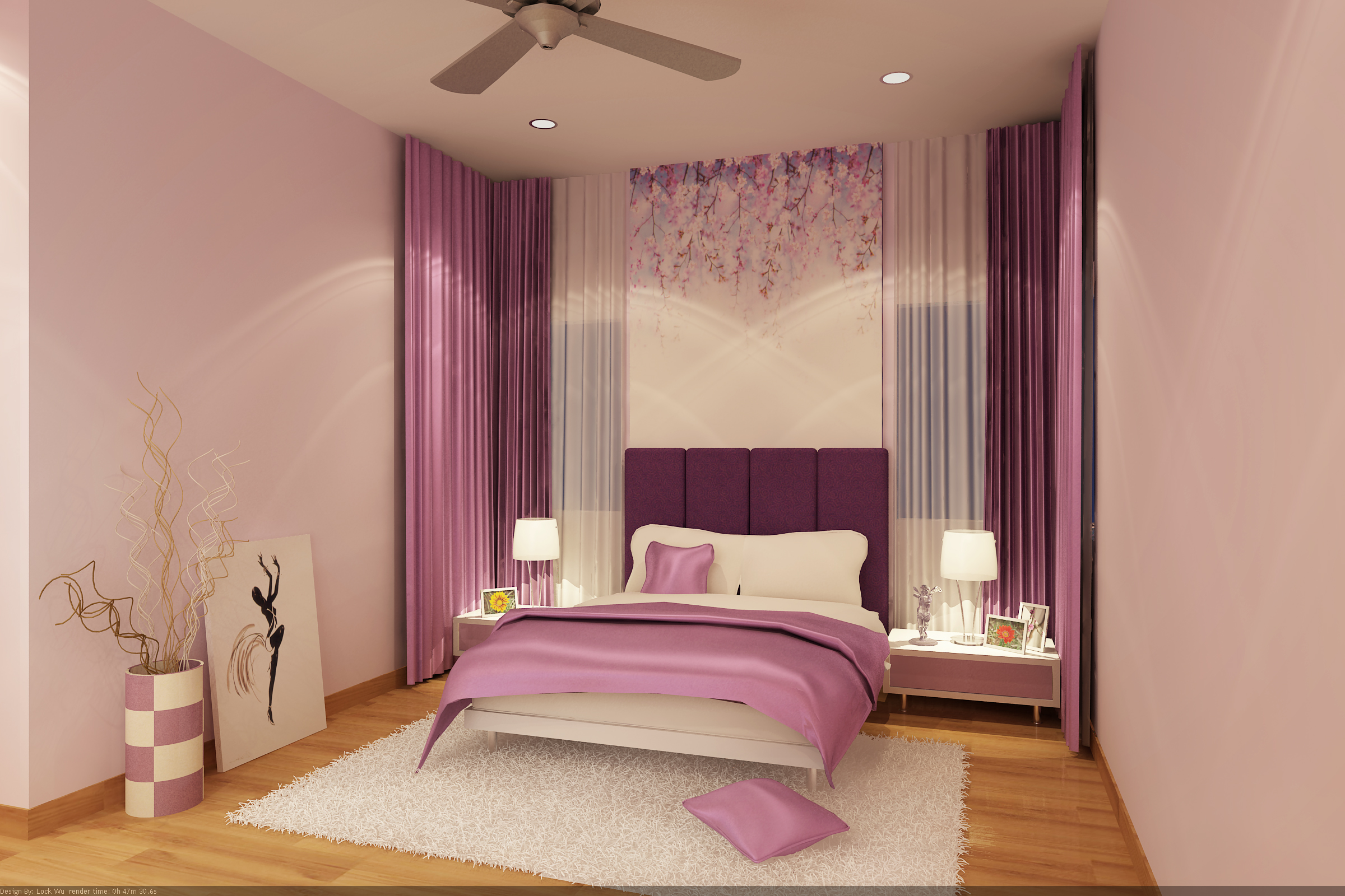Residential projects by savita menon at for 3 year old bedroom ideas