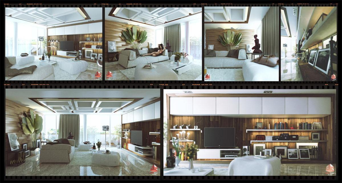 Interior design mrs luki kemang village jakarta by for Interior design jakarta