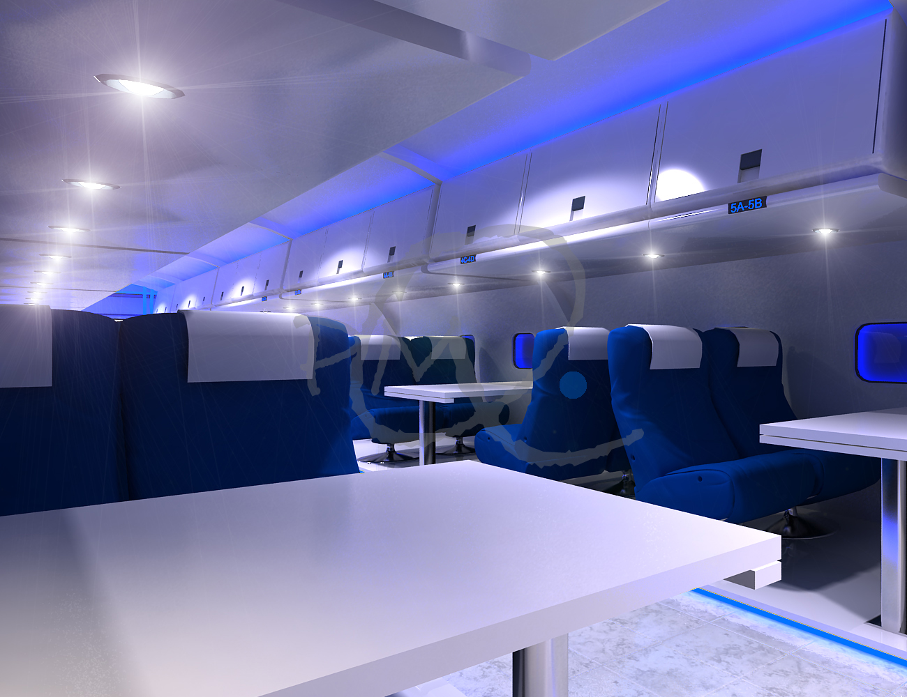 The flight restaurant quot thesis project by pmq interior