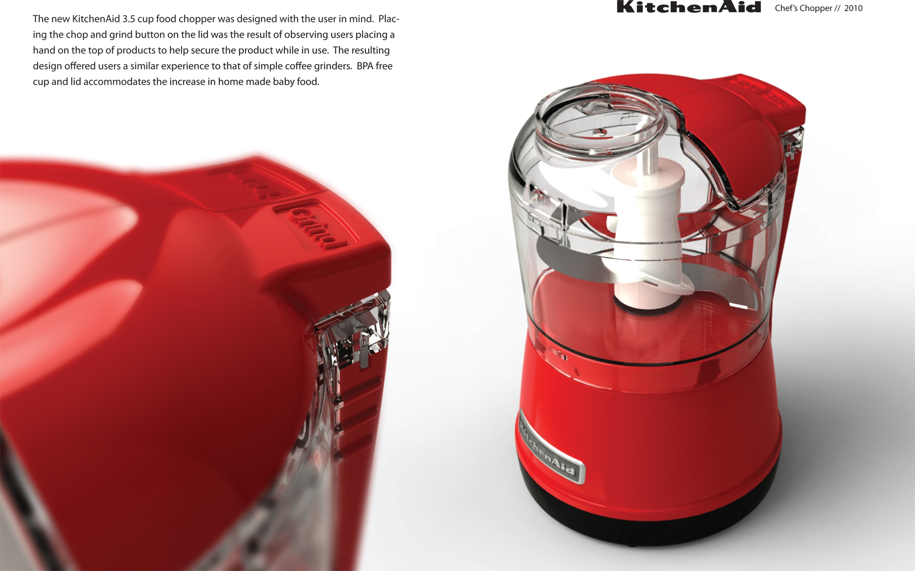 Kitchenaid Vegetable Chopper consumer productsmatt czach at coroflot