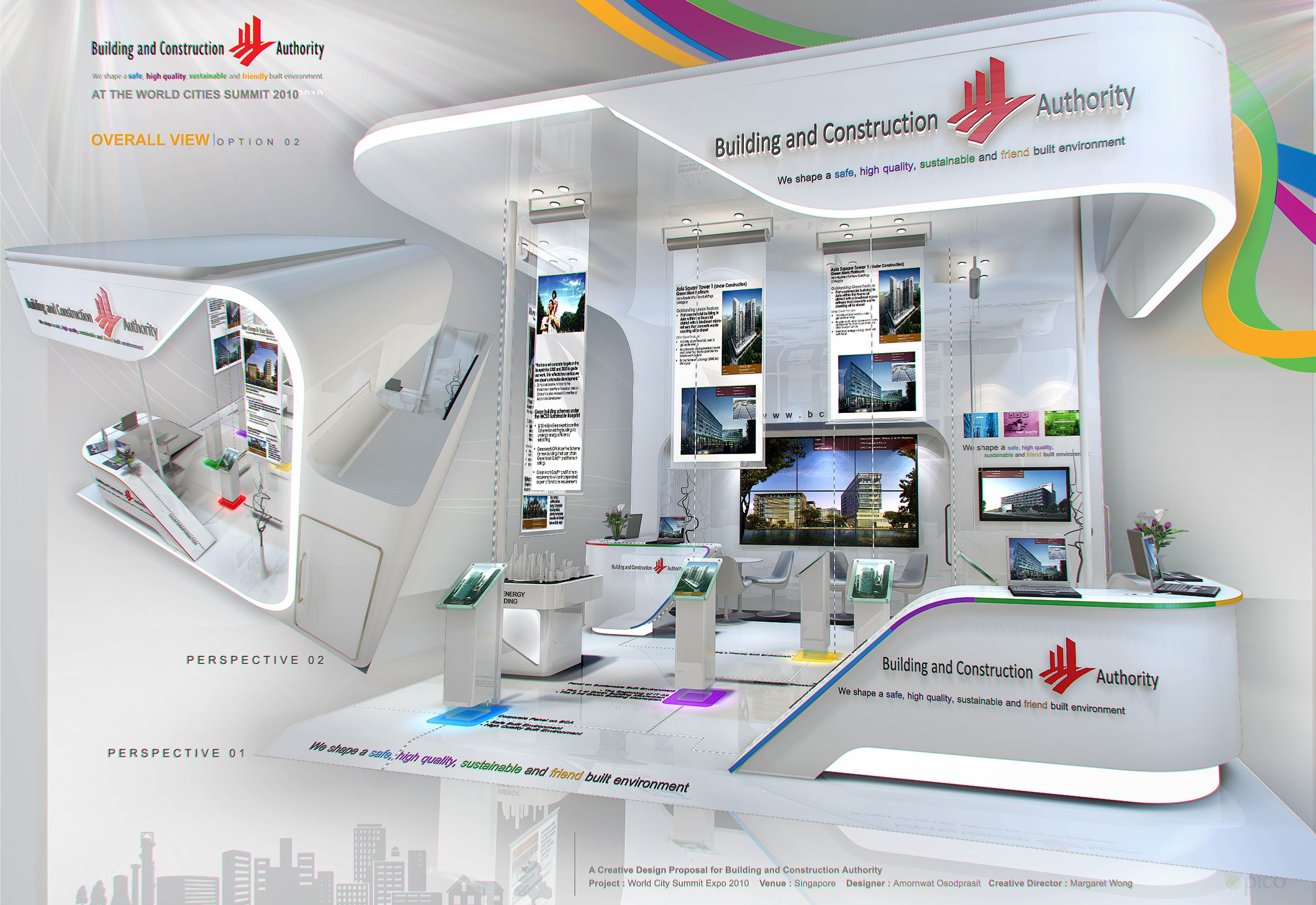Exhibition Stand Presentation : Standard booth by amornwat osodprasit at coroflot