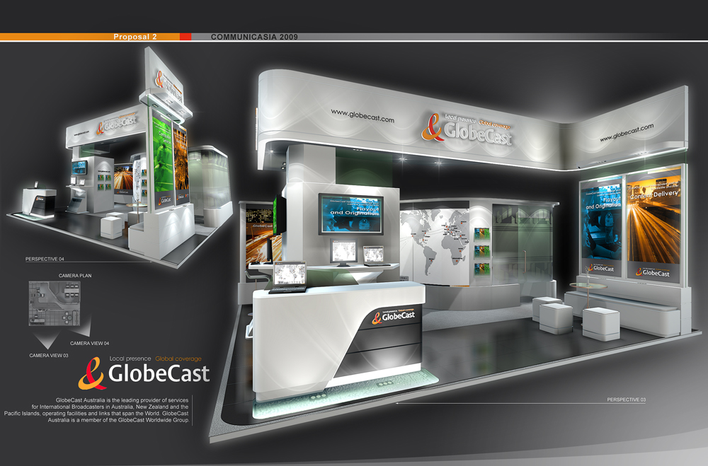 Standard Exhibition Booth : Standard booth by amornwat osodprasit at coroflot